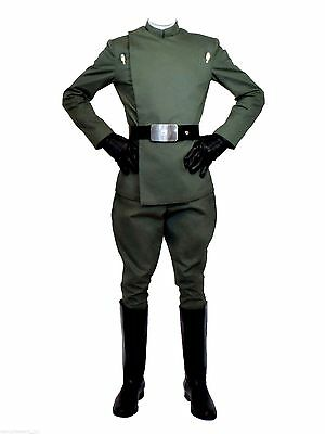 Licensed Star Wars Museum Replicas Imperial Fleet Officer Costume Size Small