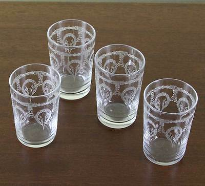 Set of 4 Charming Vodka Small Glass