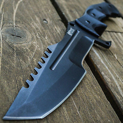 "11"" Call of Duty Ghosts Fixed Blade Knife Tactical Tracker Combat Military Bowie"