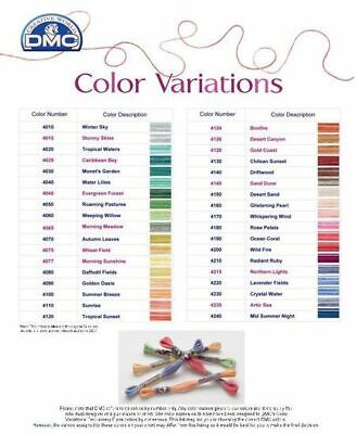 DMC COLOR VARIATIONS THREAD 8m SKEIN, VARIEGATED EMBROIDERY FLOSS, SELECT COLOUR