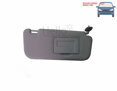 Genuine 852201C200QS OEM Sun Visor RIGHT 1p For 2002 - 2012 HYUNDAI Getz : Click