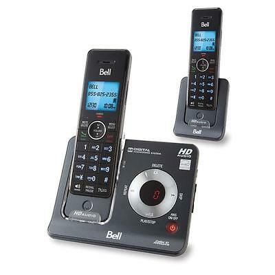 Bell BE6425-2 Dect 6.0 Cordless Phone with 2 Handsets & Digital Answering System