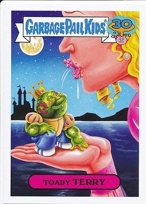 TOADY TERRY 7a 2015 Topps Garbage Pail Kids 30th COMIC BOOK COVER