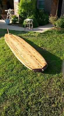 Hollow Wooden Stand Up Paddle Board