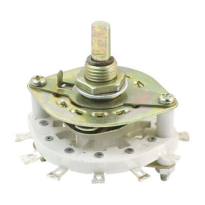 1P11T 1 Pole 11 Position Single Deck Rotary Switch