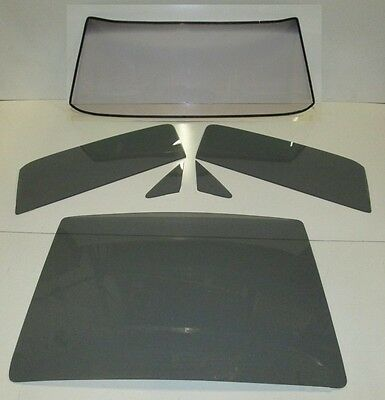 1967 1968 Mustang Fastback Fb Windshield Vent Door Rear Back Glass Grey Tint