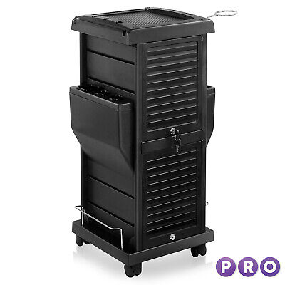 Hair Salon Trolley Locking Mobile Cart