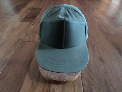 New Vintage U.s Military Army Baseball Cap Hat Size 7 Od Green In Color