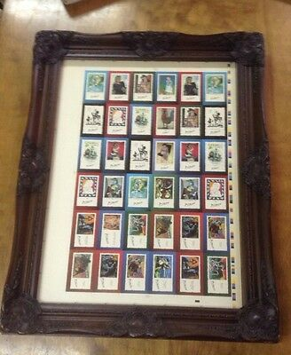 PICASSO VERY RARE Proof Uncut Sheets of 19 Card Set Only Issue Ever 1995 Ltp123