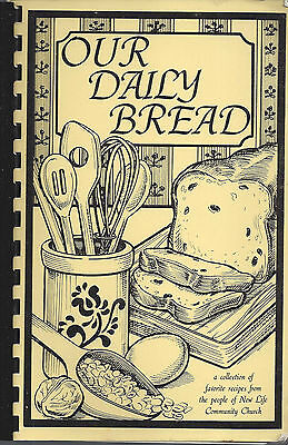 *apple Valley Mn 1987 New Life Community Church Cook Book *our Daily Bread *rare