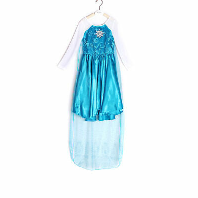 Kids Girls Queen Princess Cosplay Costume Fancy Dress Halloween Party
