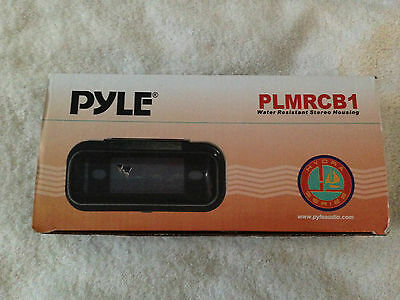 Pyle PLMRCB1 Water Resistant Stereo Housing Black ~ NEW
