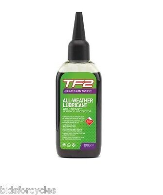 WELDTITE TF2 PERFORMANCE ALL WEATHER LUBRICANT 100ml CYCLE BICYCLE