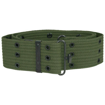 LC-1 US Army Military Pistol Belt Alice Web Webbing LC1 Security Patrol Olive OD