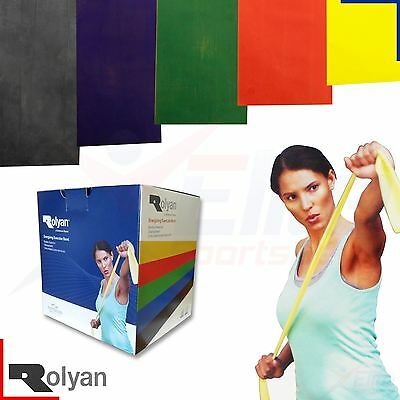 Rolyan Band Resistance Exercise Fitness Physio Yoga Crossfit Stretch Latex