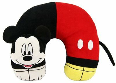 "Disney Mickey Mouse 3D Character Travel Pillow 11"" X 12"""