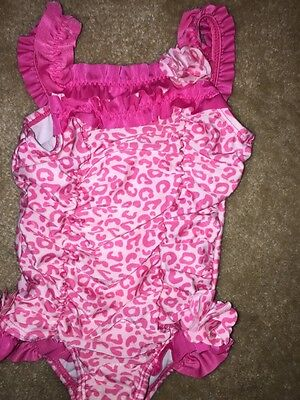 Baby Girl Pink Bathing Suit Size 18M
