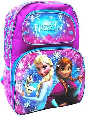 New Large Disney Frozen Backpack Girls School Bag Christmas Gift Elsa Anna Toys