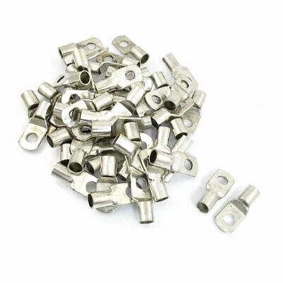 50 x 10mm Ring Dia 16-14 AWG Non Insulated Terminals SC70-10