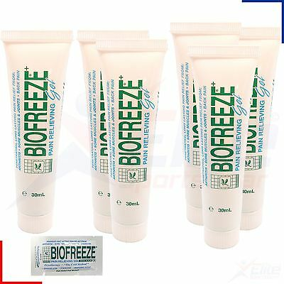 Biofreeze 1oz 30ml Gel - Muscle Joint Arthritis Back Aches Pain Relief Rub