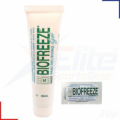 Biofreeze 1oz 30ml Gel - Muscle Joint Arthritis Back Aches Pain Relief Rub x 1