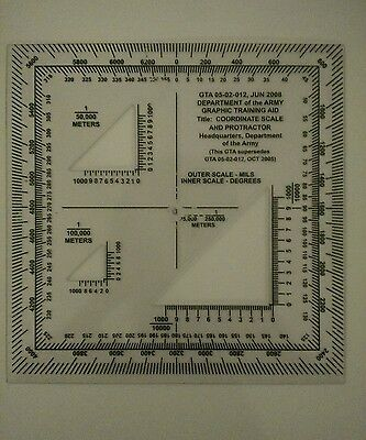 Vintage Drafting Templates (Aviation, Military)  RM Products, Pickett, Army