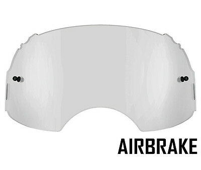 GOGGLE-SHOP REPLACEMENT CLEAR LENS to fit OAKLEY AIRBRAKE MOTOCROSS GOGGLES