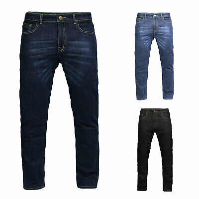 GBG Motorcycle Armour Trouser Jeans With Protective Lining Slim Fit Stretch