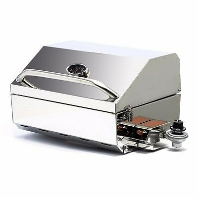Kuuma 58155 Elite 216 Stainless Steel Gas Grill Outboard Barbecue Boat RV MD