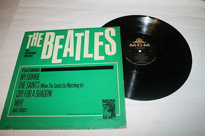 "The Beatles "" With Tony Sheridan "" Made In Usa - Mgm - Rare - Mexican - Lp"