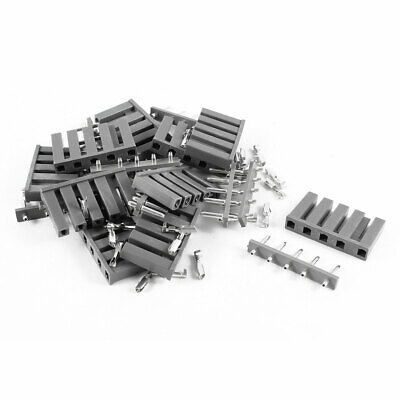 10 x TJC1-5P Wire to Board Connector Socket Insert Spring Pin 10mm 8mm Pitch