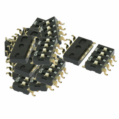 40 x Electronic Component 4 Way Slide Type DIP Switches