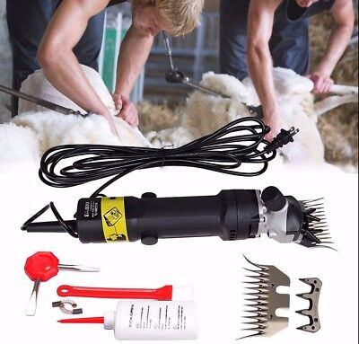 380W  electric farm supplies sheep goat shears animal grooming shearing clipper