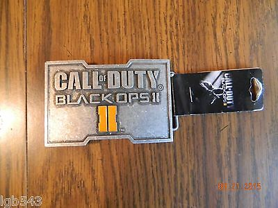 New- OFFICIALLY LICENSED Call Of Duty Black Ops II Belt Buckle