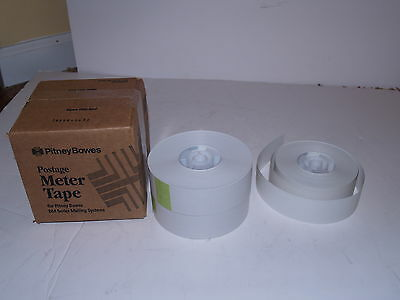 Pitney Bowes Lot of 5 1/2 rolls of Postage Meter Tape