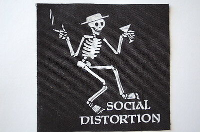 Social Distortion Cloth Patch Punk Rock