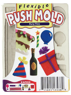 Sculpey Push Mold - Party Time