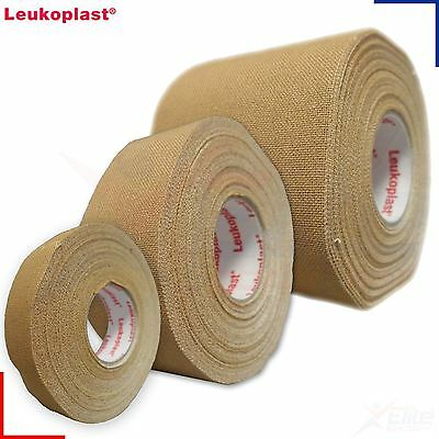 Leukoplast Zinc Oxide Tape Tan Waterproof Medical Sports NHS Adhesive 9.2m