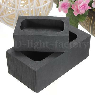 High Purity Graphite Casting Melting Ingot Mold 100g / 750g For Gold & Silver Tw