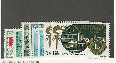 Morocco,  Postage Stamp, #139, 141, 153-158 Mint LH, 1966-1967