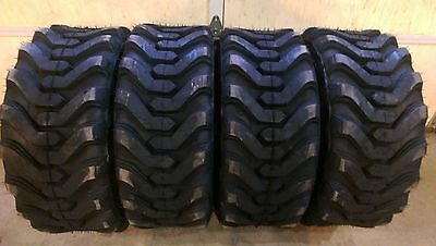 4 HD 10X16.5 Carlisle Trac Chief XT Skid Steer Tires -10-16.5-10 PLY-Made in USA