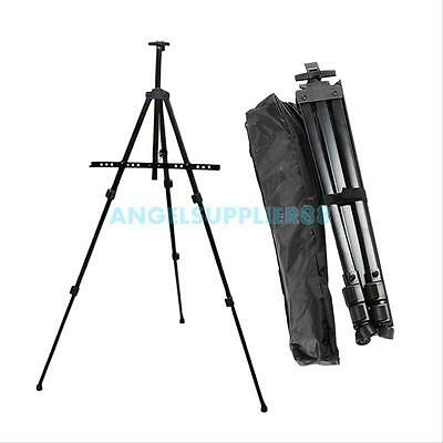 Artist Folding Alloy Telescopic Field Studio Painting Easel Tripod Display Stand