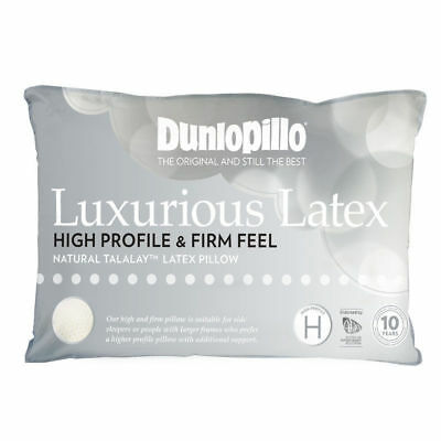 Dunlopillo-Talalay Latex Luxurious Pillow High Profile & Firm Feel RRP $169.95