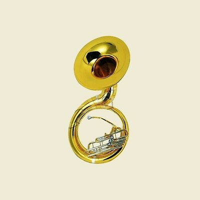 Tuyama® TSS-174 Sousaphon in B (Short Action System) Bb Sousaphone Messing
