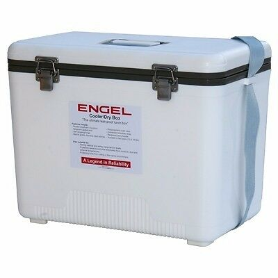Engel EC30 Dry Box Cooler Air Tight 30 Qts White Color Marine RV Camper Boat MD