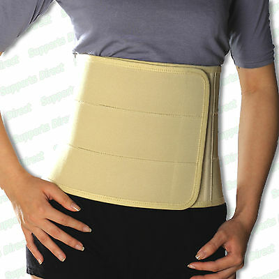 Elastic Abdominal Binder Stomach Compression Slimming Belt Back Support Brace