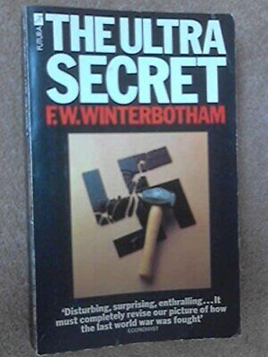 The Ultra Secret by Winterbotham, F.W. Paperback Book The Cheap Fast Free Post