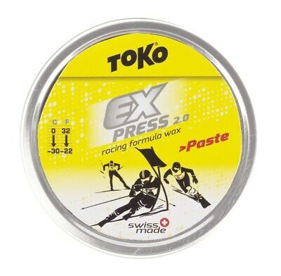 "[59,98€/100g] TOKO High-Fluor Cremewachs ""Express Racing Paste"""