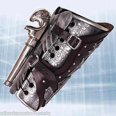 Licensed  Assassins Creed II Museum Replicas Ezio Armored Vambrace w/Gun