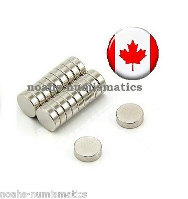 "100 Rare Earth Magnets 3mm x 1mm 1/8""x1/25"" Strong Neodymium N35 Warhammer 40k"